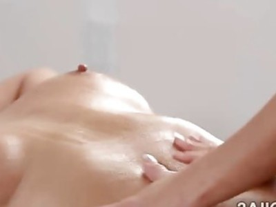 Girl on girl massage leaves blonde beauties really horny