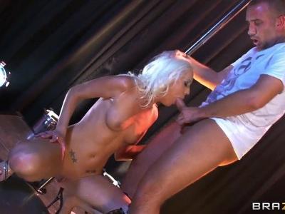 Hardcore scene with Kacey Villainess & Keiran Lee