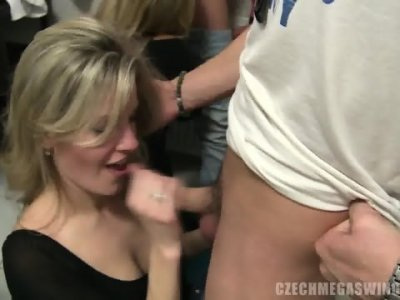 Big Swingers Party At Home - Naomi Nevena