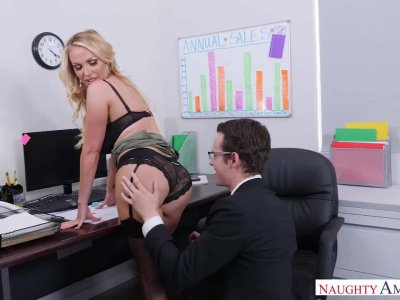 Too Much Office Sex Gets Nikki Benz Fired, Then Rehired