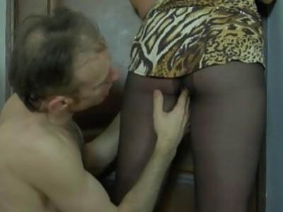 Miriam&Peter nasty pantyhose action