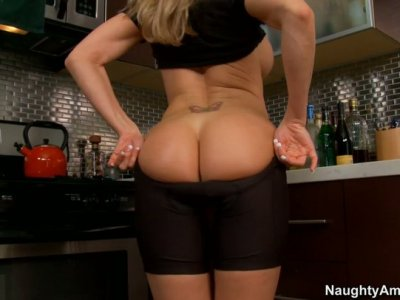 Hot as heating system Brandi Love prefers position 69