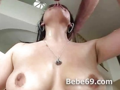 Noelle Easton drooling deepthroat oral