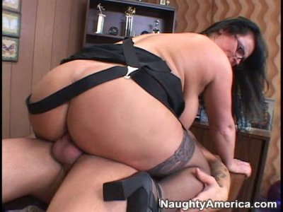 Fat lady Indianna Jaymes is fucked in doggy style