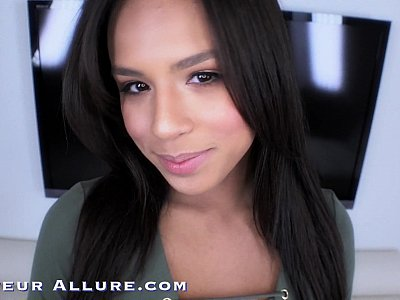 Amateur allure presents Autumn Falls sucking cock, fucking and swallowing cum
